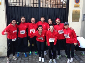Kelloggs running team