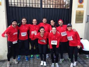 Kelloggs running team