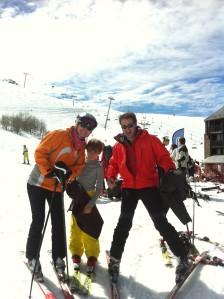 Ski en familia