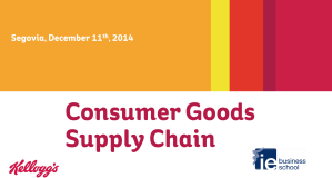 Kellogg Supply Chain Dec  2014- IE Business School_share